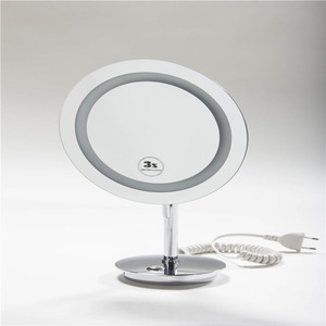Lighted makeup mirror wall mount ,hotel mirror led