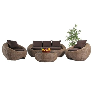 Luxury Garden Furniture Rattan Outdoor Sofa