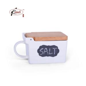 custom ceramic novelty Takenoko salt pepper shakers