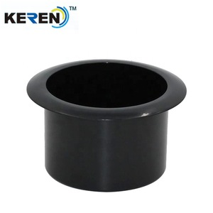 Black plastic table cup holder for sofa and cuddle chair
