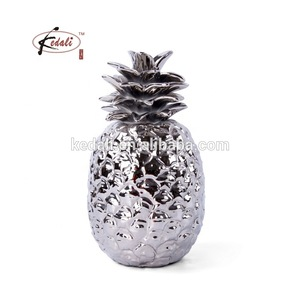 home decoration ceramic pineapple 2019 pictures & photos