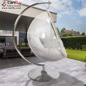 Standing Egg Hanging Ball Chair Indoor Swing Hanging Bubble Chair