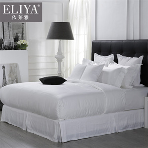 Designs Iso9001 China Supplies 100% Cotton Fitted King 5 Star White Quilt Bedding Set Bed Sheet Hote