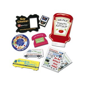 Promotional advertising magnetic business card/business card fridge magnet