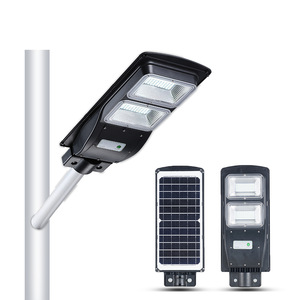 Bosun Radar Sensor All In One Solar Led Street Light