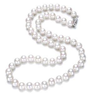 Freshwater Pearl Necklace Natural Pearl Necklace Real Pearl Necklace pictures & photos