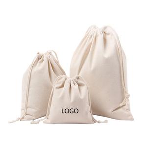 Bag Small Drawstring Bags Canvas