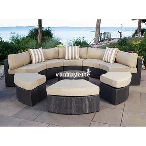 Garden Furniture Outdoor Outdoor Rattan Patio Furniture Aluminium Frame Sofa Set pictures & photos