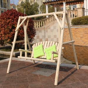 Outdoor Garden Wooden Swing Chair Hanging Swing Chair Outdoor Swing Egg Chair