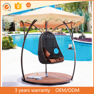 Patio Garden Swing Chairs Single Seat Swing Chair Free Standing Swing Chairs