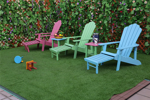 Promotional Outdoor Patio Furniture Various Color Polywood Adirondack Chair pictures & photos
