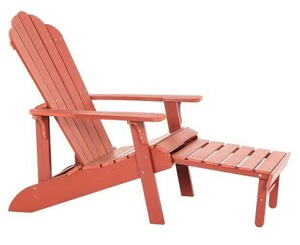 Stackable Plastic Wood Adirondack Chairs for Outdoor pictures & photos