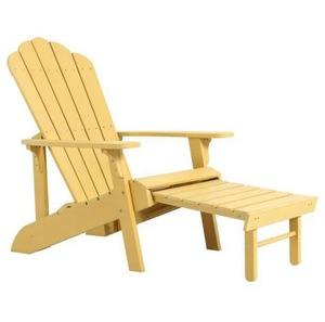 Stackable Plastic Wood Adirondack Chairs for Outdoor