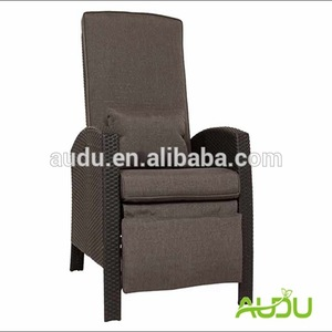 Audu Patio Chair Large Size Recline Comfortable Patio Chair With Footrest