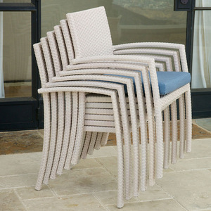 Best selling wicker rattan furniture outdoor dining set - Wicker Rattan outdoor folding dining chair pictures & photos
