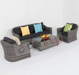 Modern designs aluminum outdoor furniture patio sofa setTF-6033
