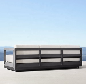 Luxury outdoor furniture maintenance free outdoor furniture aluminium hand crafted sofa pictures & photos