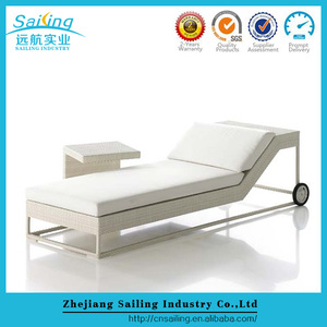 Sailing Wholesale All Weather Outdoor French Rattan Beach Day Beds pictures & photos