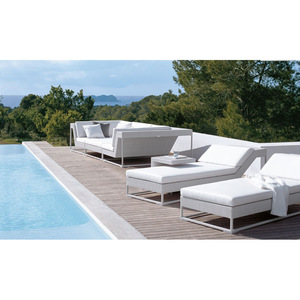 Sailing Wholesale All Weather Outdoor French Rattan Beach Day Beds