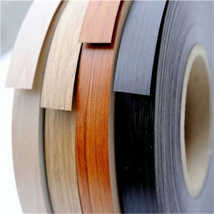 High-quality Plastic Woodgrain PVC ABS Edge Banding for Furniture Accesory