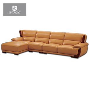 Modern Leather Sectional Sofa Set Living Room Furniture
