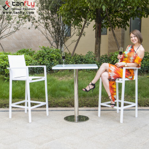 Wholesale Outdoor Patio Modern Bar Furniture Bar Table Chair Set