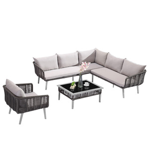 Sofa Back Wall Design, Modern Aluminium Lounge Outdoor Furniture Garden Sofa Set Wholesale Outdoor Furniture Products On Tradees Com