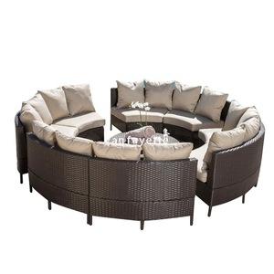 Wicker Patio Set Outdoor Furniture Round Garden Line Patio Furniture Round Rattan Sofa Set Round Rat