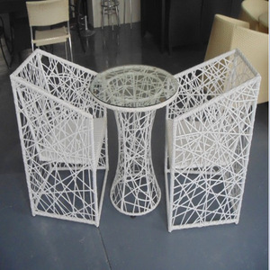 wholesale cheap outdoor white rattan wicker furniture pictures & photos