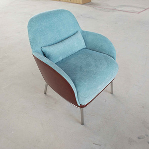 wholesale classic design fabric egg chair for living room