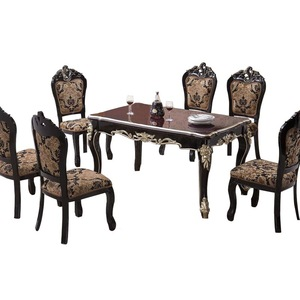2018 New Style Dining Room Furniture Modern Wooden Dining Table