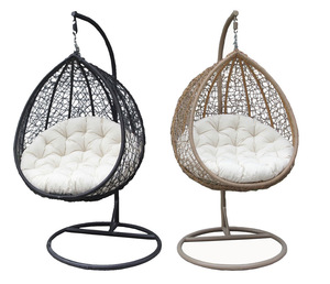 Professional Manufacturer Wholesale Newly hand made hanging  Patio Swing Chair  rattan wicker Garden