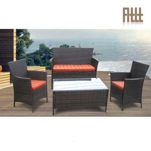 Wholesale poly rattan sofa cushion covered garden line outdoor furniture dubai patio furniture AWRF6 pictures & photos