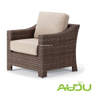 Audu 4 Persons Brown Rattan Patio Furniture Garden For USA Market pictures & photos