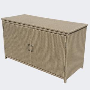 Best Selling garden rattan storage box outdoor storage box