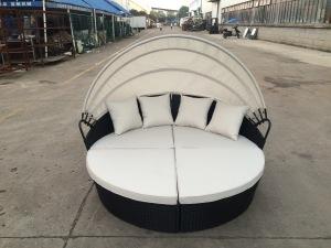 Modern Outdoor Garden Rattan Outdoor Garden Furniture Lounge Sectional Daybed Sofa pictures & photos