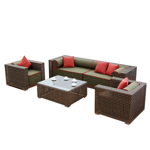 waterproof material for recycled plastic rattan lounge outdoor furniture