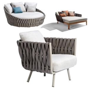 modern furniture outdoor patio set rope furniture