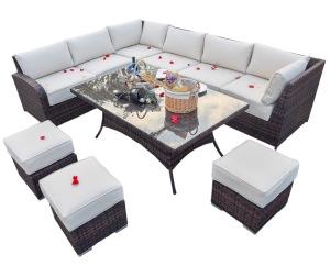 Outdoor Sofa Modular Sectional Rattan