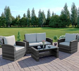 rattan garden furniture outdoor picnic rattan table