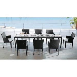fancy modern patio cafe furniture dining set