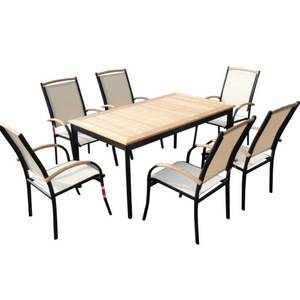 teak outdoor garden furniture set