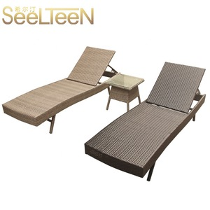 Hotel wicker set relaxing comfortable chair outdoor hotel furniture