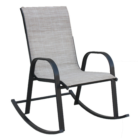 Comfortable Steel Sling Glider Chair