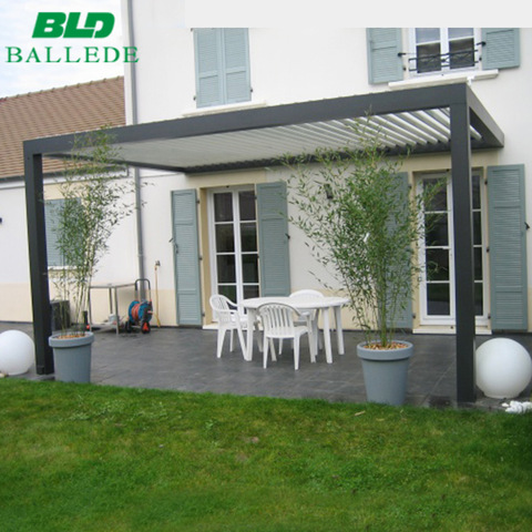 Rainproof aluminum louver pergola marquee outdoor furniture pictures & photos