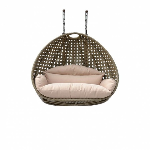 Alibaba Outdoor Furniture China Tf 9716 Tanfly Wicker White Rattan Hanging Swing Chair pictures & photos