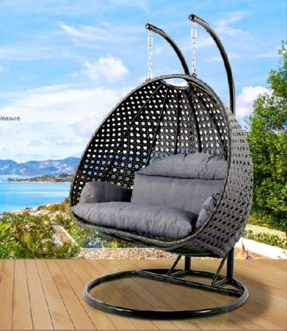 Alibaba Outdoor Furniture China Tf 9716 Tanfly Wicker White Rattan Hanging Swing Chair