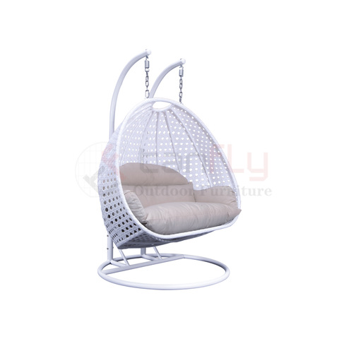 Commercial Outdoor Furniture Wicker Hanging Rattan Swing Chair