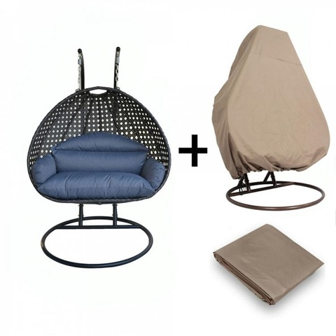 Garden Terrace Furniture Baskets Patio Egg Swing Chair Natural Rattan Furniture pictures & photos