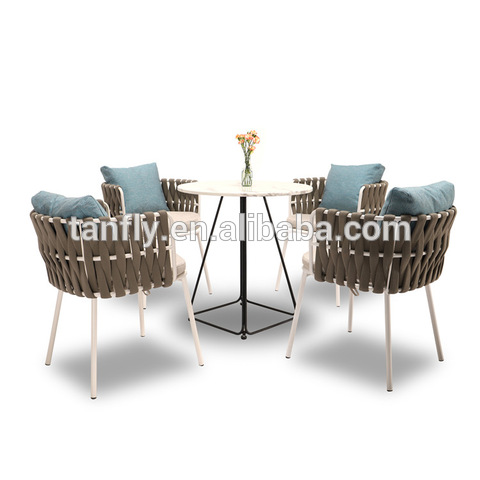 Luxury Garden Furniture Aluminum Egg Shape Chairs For Restaurant Dining pictures & photos